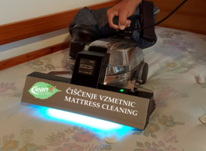 čiščenje vzmetnic z UV